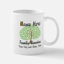 Customizable Family Reunion Tree Mugs