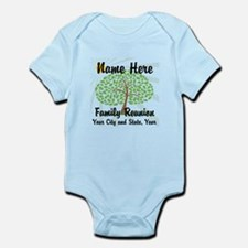 Customizable Family Reunion Tree Body Suit