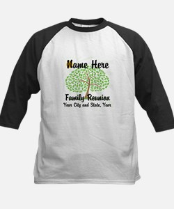 Customizable Family Reunion Tree Baseball Jersey