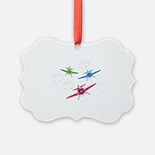 airplane trio boys Ornament