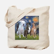 T-Starry Night - 3 Boxers Tote Bag