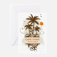 CapeTownpalmtree3 Greeting Card