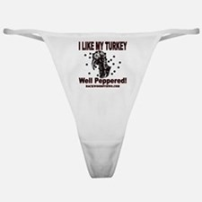 Turkey Peppered.gif Classic Thong