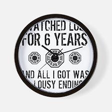 Lousy Lost Wall Clock