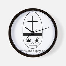 HappyChristians Wall Clock