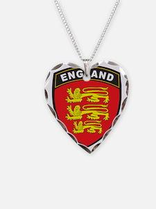 BlackShieldEngland1 Necklace