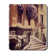 2-ITALIAN STAIRS TALL Mousepad