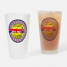 2-mini classic -flag Drinking Glass