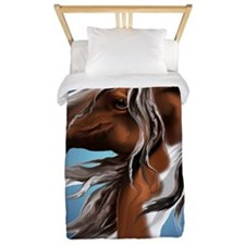 Paint Horse Face PosterP Twin Duvet
