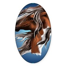 Paint Horse Face PosterP Decal