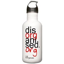 disorganised live Water Bottle