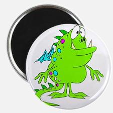 green dinosaur Magnet