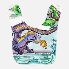 cartoon dragon Bib