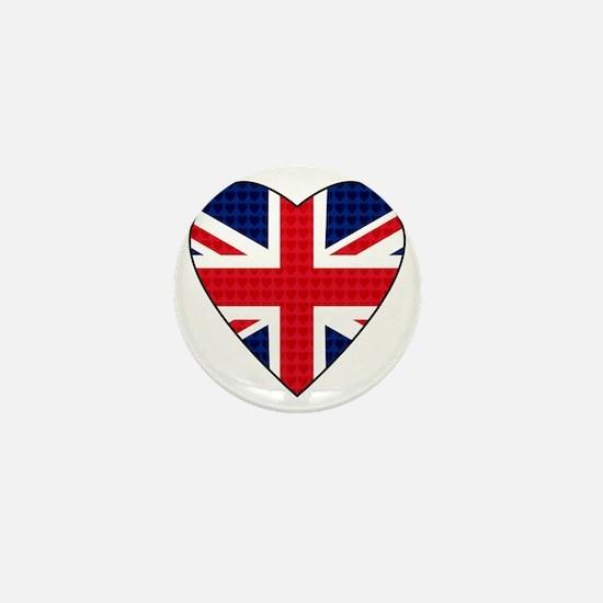 Hearts_Union_Jack Mini Button