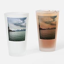 New York Drinking Glass