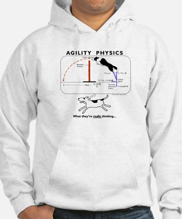 Cute Agility dog Jumper Hoody