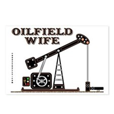 Oilfield Wife2 Zed A4 Tes Postcards (Package of 8)