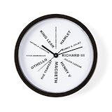 Literature Wall Clocks
