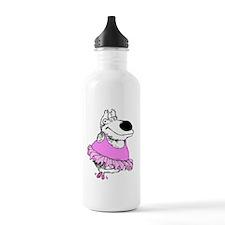 ballet bear Water Bottle