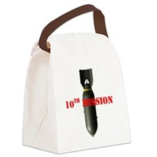 3-Bomb10 Canvas Lunch Bag