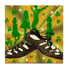 IRISH DANCE Tile Coaster