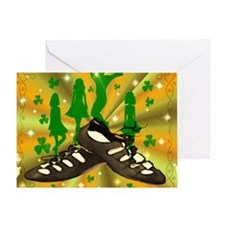 IRISH DANCE Greeting Card