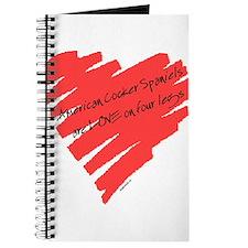 Am Cocker Spaniel LOVE on 4 Legs Journal