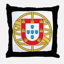 portugal5 Throw Pillow