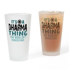 Dharma Thing Btn Drinking Glass