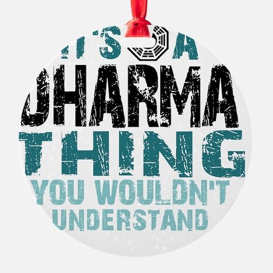 Dharma Thing Btn Ornament