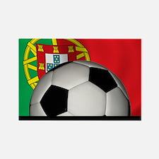 2-soccer1Portugal1 Rectangle Magnet