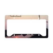 WindmillNetherlands1 License Plate Holder