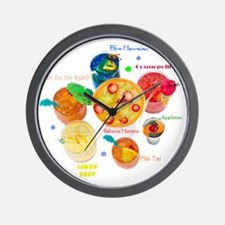 COCTAILS Wall Clock