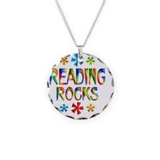 READING Necklace Circle Charm