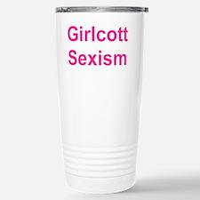 Girlcott Sexism 5_10 Travel Mug