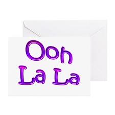 Ooh La La Greeting Cards (Pk of 10)