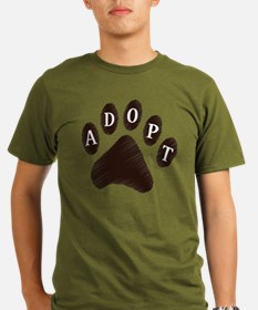 2-adopt claw T-Shirt