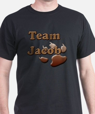 team jacob with paw 2 copy T-Shirt
