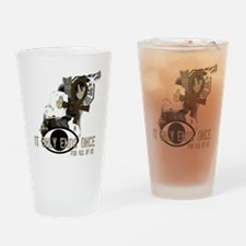 LOST collage Drinking Glass