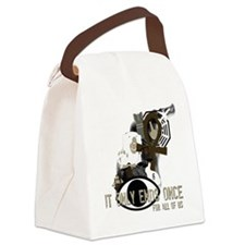 LOST collage Canvas Lunch Bag