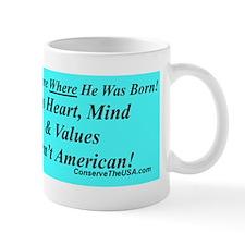 Obama Born Bump p Mug