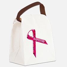 survivor  pinkcopy Canvas Lunch Bag