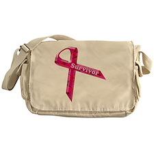 survivor  pinkcopy Messenger Bag