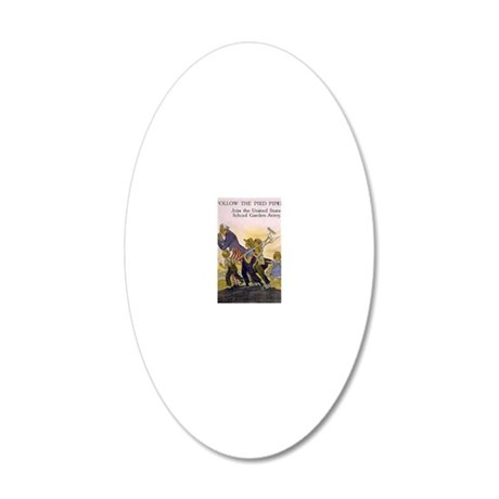 Maginel Wright Barney 1919 20x12 Oval Wall Decal