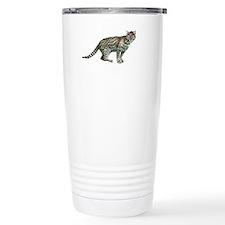 4-ocelot Ceramic Travel Mug