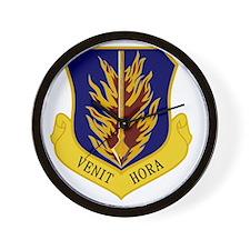 97th Bomb Wing - Venit Hora Wall Clock
