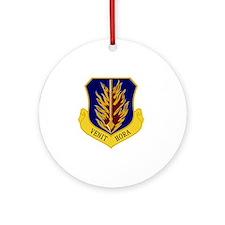 97th Bomb Wing - Venit Hora Round Ornament