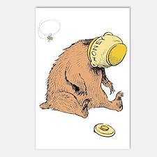 honey bear Postcards (Package of 8)