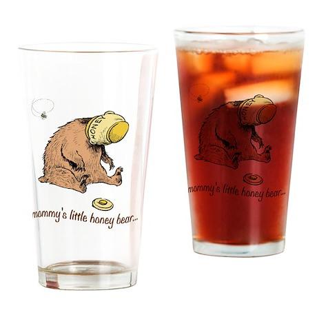 mommys little honey bear 2 Drinking Glass