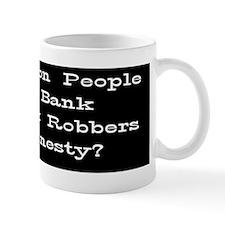 Bank Bumper dark Small Mug